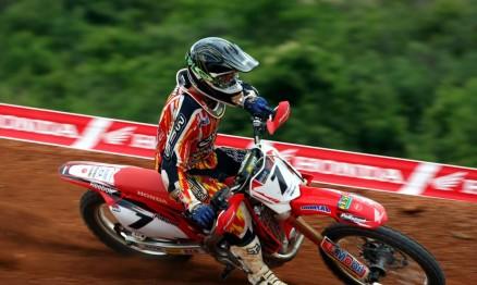 Swian foi o piloto mais rápido na MX1 em Minas Gerais