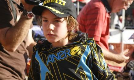 Enzo Lopes é um dos jovens talentos do Motocross brasileiro
