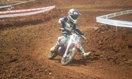 Gabi Andrigo foi o campeão Gaúcho de MX na categoria 50A