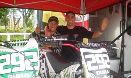 Duda Parise foi campeão Gaúcho de Motocross na MX1 e na MX2