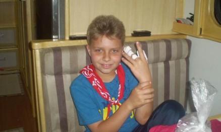 Thui Todeschini se lesionou fora da pista em Tapejara