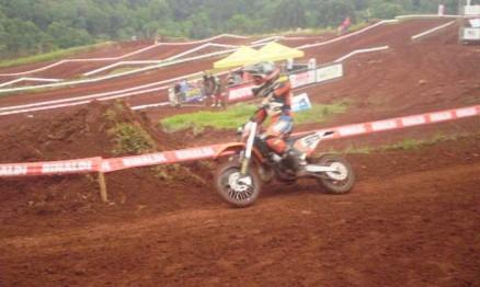 Gabriel conquistou seu primeiro título no Gaúcho de MX