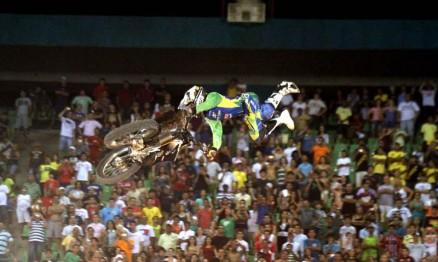 Joaninha foi o melhor brasileiro na etapa do Mundial de FMX no Ceará
