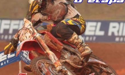 Cartaz de divulgação do Campeonato Catarinense de Motocross