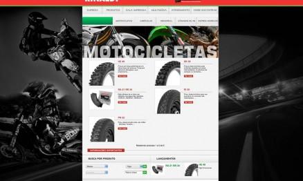 Rinaldi apresenta o seu novo site