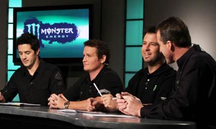 Jeff Emig, Ricky Carmichael, Jeremy Mcgrath e Jeff Stanton