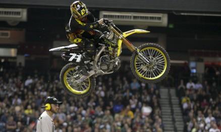O americano Ryan Morais subiu no pódio em Phoenix