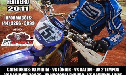 Cartaz de divulgação do primeiro Velocross PL MX Park