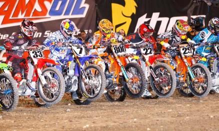Sessão estaleiro no AMA Supercross 2011
