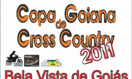 Cartaz de divulgação da Copa Goiana de Cross Country
