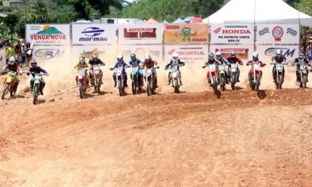Domingo será dada a largada do Capixaba de Motocross 2011