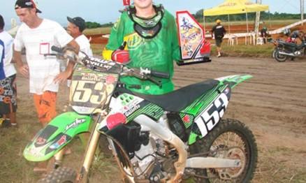 Tchelo venceu uma das etapas da Copa Verão de Motocross 2010