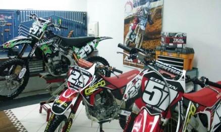 Motos roubadas em Santa Catarina