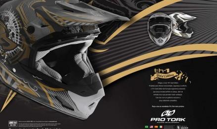 Pro Tork lançou campanha para divulgação do novo capacete