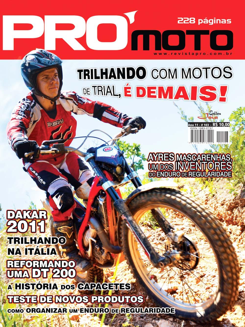 primeira m o capa da revista pr moto 103 mundocross