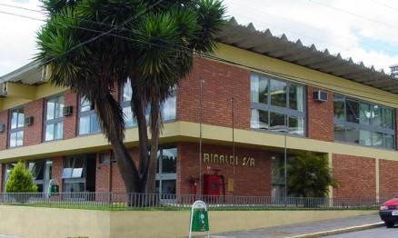 Fachada do escritório da Rinaldi em Bento Gonçalves