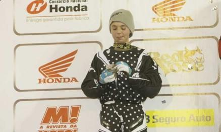 Pepê Bueno é uma das promessas do Motocross Brasileiro