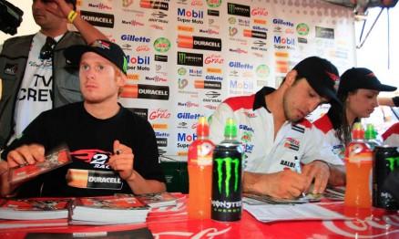 Adam, Balbi Jr. e Mariana serão companheiros de equipe em 2011
