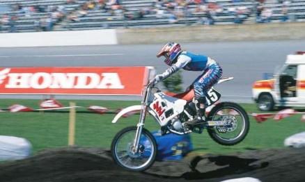 Damon Bradshaw foi um dos grandes do AMA SX e AMA MX