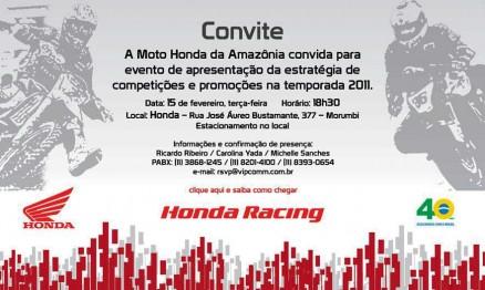 Anúncio oficial das equipes Honda será nesta terça-feira