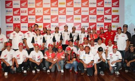 Honda Brasil apresentou seus pilotos para a temporada 2011