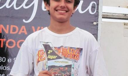 Petrus se despediu da categoria 85 com um título no Carioca de MX