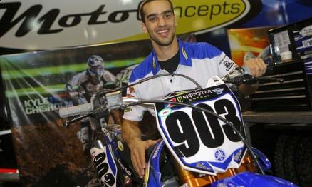 Jorge Balbi correu pela equipe MotoConcepts / Yamaha em Atlanta