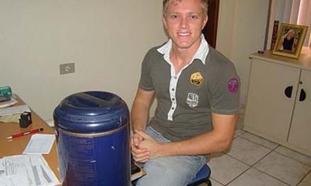 O campeão Brasileiro MX2 em 2008 Selhorst fará aniversário na quarta