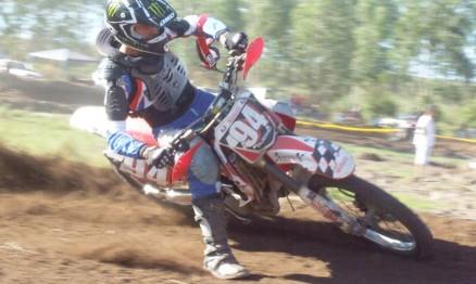 Em 2010 Fabrício competiu no Velocross com a moto do seu pai