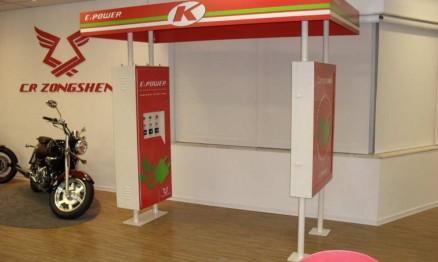Kasinski apresentará na Motofair o projeto do posto elétrico