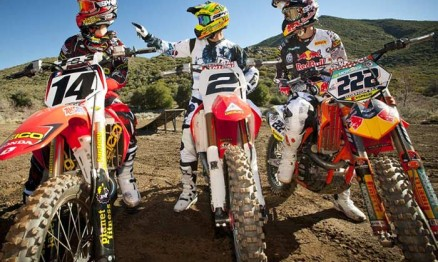 Kevin Windham, Jeremy Mcgrath e Antonio Cairoli