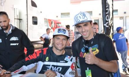 Chad Reed e Renato Dalzochio Jr.