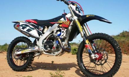 Nova moto do piloto Roger Hoffmann para a temporada 2011