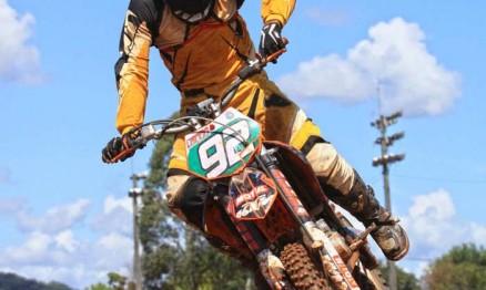 Jethro Feula está de volta as disputas do Gaúcho de Motocross