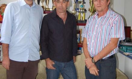Federico Carli, Alex Testoni e Reinaldo Selhorst