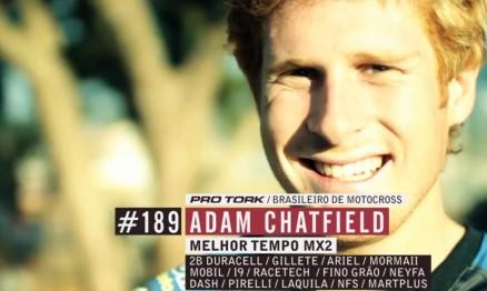 Em 2010 Adam correu no Brasil pela equipe 2B Duracell Racing