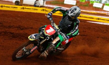 Cantero defenderá seu título no Paraguaio de Velocross