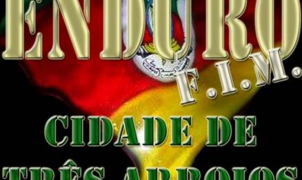 Cartaz de divulgação do Gaúcho de Enduro FIM em Três Arroios