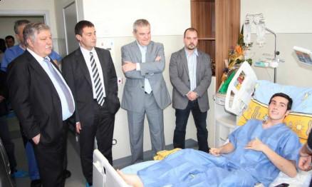 Autoridades búlgaras foram visitar Wellington pelo seu aniversário