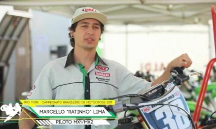 Marcello 'Ratinho' Lima é um dos entrevistados do programa