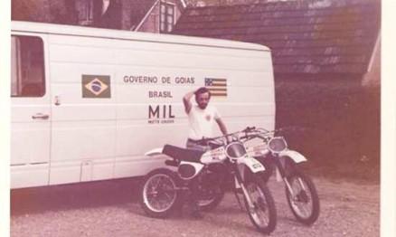 A estrutura da primeira equipe brasileira no Mundial de Motocross