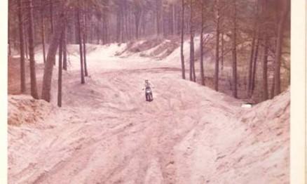 Pista de treino na Holanda. Frio de zero grau e muita areia