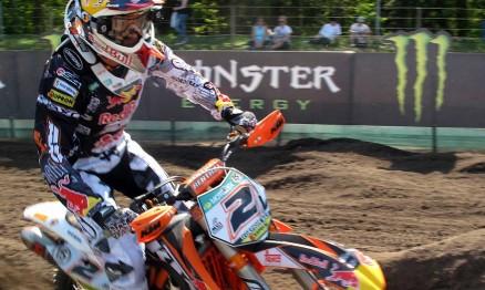 Max Nagl ficou em segundo lugar no GP da Holanda