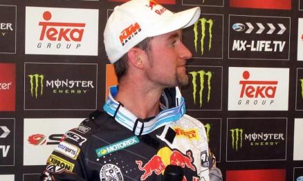 Max Nagl na coletiva de imprensa depois do GP na Holanda