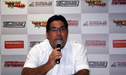 Carlinhos Romagnolli é o organizador da Superliga de Motocross