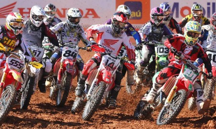 Favorito venceu abertura da Superliga de Motocross