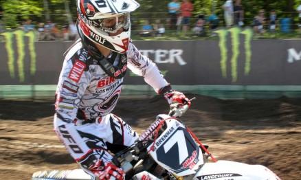 Arnaud Tanus está em quarto lugar no Mundial MX2