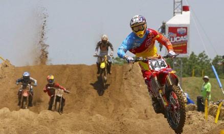 A segunda etapa do AMA Motocross foi no circuito de Freestone
