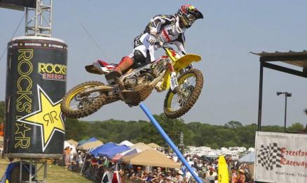 Ryan Dungey é o atual campeão do AMA Motocross 450
