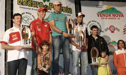 Piloto da casa venceu o Enduro da Polenta 2011